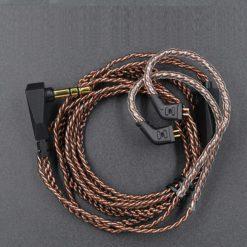 KZ Pin B Kablo. ZST, ZST Pro, AS10, BA10, ZS10, AS06, ES4, ED12, ZSR, ED16, ES3 modelleri ile uyumlu orijinal yedek kulaklık kablosu.